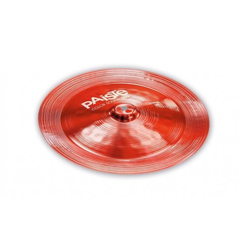 "Paiste Color Sound 900 Red 16"" China Cymbal"