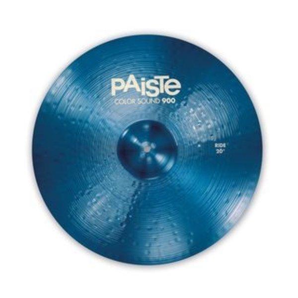 "Paiste Paiste Color Sound 900 Blue 20"" Heavy Ride Cymbal"
