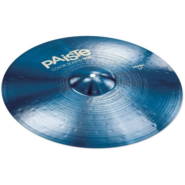 "Paiste Paiste Color Sound 900 Blue 17"" Heavy Crash Cymbal"