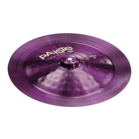 "Paiste Color Sound 900 Purple 18"" China Cymbal"