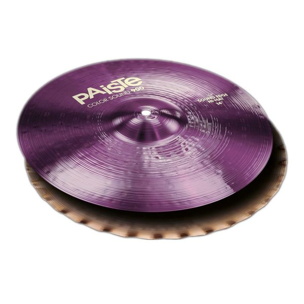 "Paiste Paiste Color Sound 900 Purple 14"" Sound Edge Hi Hat Cymbals"