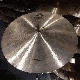 """Zildjian Used Zildjian 16"""" A Vintage And Cie Crash Cymbal"""