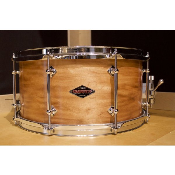 Craviotto Craviotto Custom Shop 7x14 Solid Maple 8 Lug Snare Drum