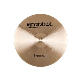 "Istanbul Mehmet Istanbul Mehmet Traditional Series 17"" Thin Crash Cymbal"