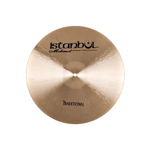 "Istanbul Mehmet Traditional Series 17"" Thin Crash Cymbal"