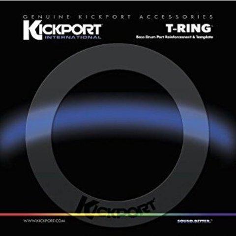 KickPort T-Ring Bass Template - Black