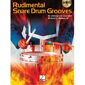 Hal Leonard Rudimental Snare Drum Grooves by Johnny Lee Lane & Richard L. Walker, Jr; Book & CD