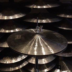 "Meinl Meinl R&D Byzance 15"" Jazz Medium Thin Hi Hat Cymbals (Model 150100083/140209065)"