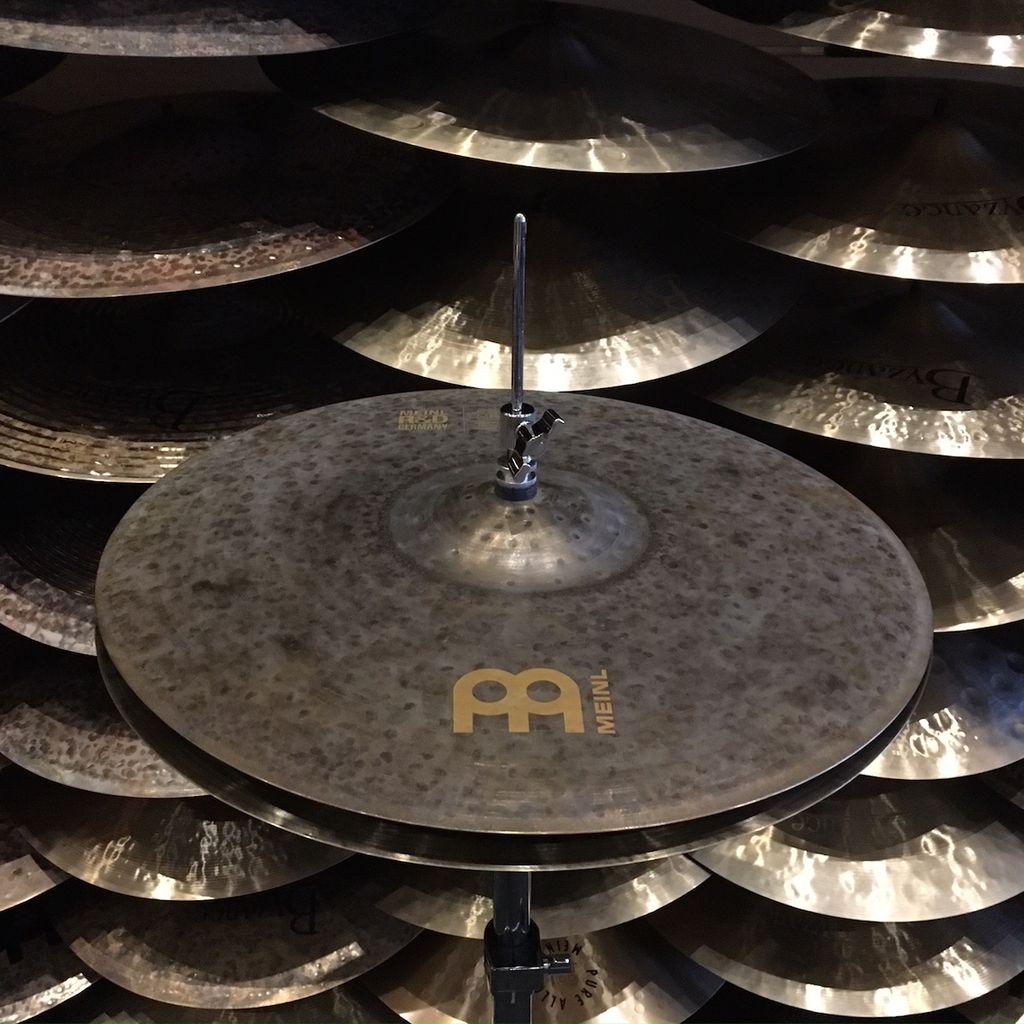 meinl meinl rd byzance 18 hi hat cymbals model 170400205170400209