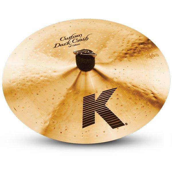 "Zildjian K Custom 14"" Dark Crash Cymbal"