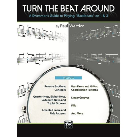 Turn The Beat Around by Paul Wertico; Book
