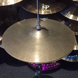 "Vintage Zildjian 1960s Avedis 14"" Hi Hat Cymbals; 658g / 842g"