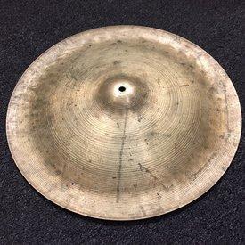 "Vintage Zildjian 1960s Avedis 20"" Swish Cymbal No Rivets; 1788g"