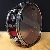 Used Fibes Crystalite MFT 5.5x14 Red Snare Drum