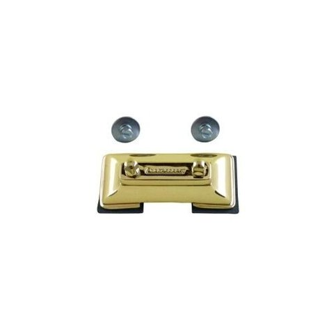 Ludwig Brass Plated Die Cast Snare Drum Butt Plate for P85, P86 and P80