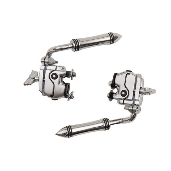Ludwig Ludwig Atlas Anchor Height-Adjustable Spur Set with 2 Atlas Brackets
