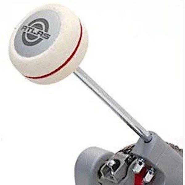 Ludwig Ludwig Tri-Felt Red Stripe Bass Drum Beater