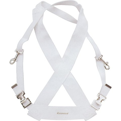 Ludwig Standard Bass Drum Sling; White