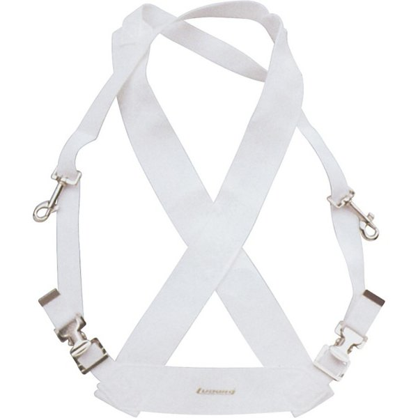 Ludwig Ludwig Standard Bass Drum Sling; White