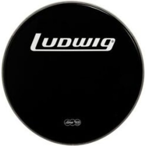 "Ludwig Weather Master Black Heavy 26"" Bass Batter Drumhead"
