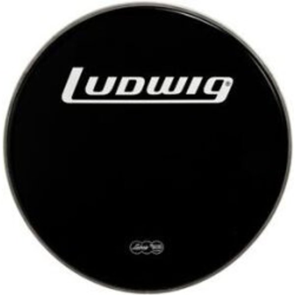 "Ludwig Ludwig Weather Master Black Heavy 26"" Bass Batter Drumhead"