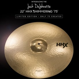 "Sabian Sabian HHX Limited Edition 22"" Jack DeJohnette Shimmering '75' Ride Cymbal (1 Of 75)"