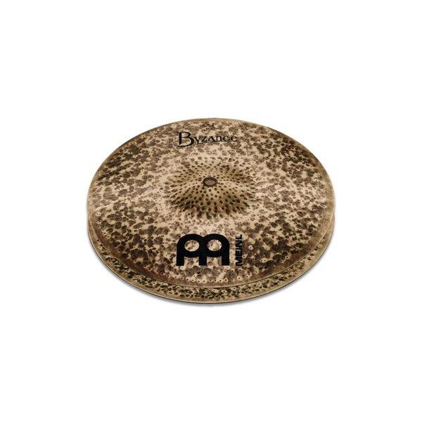 """Meinl Meinl Byzance Dark 15"""" Hi Hat Cymbals"""