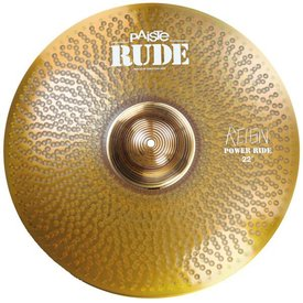 "Paiste Paiste Rude 22"" Power Ride Cymbal"