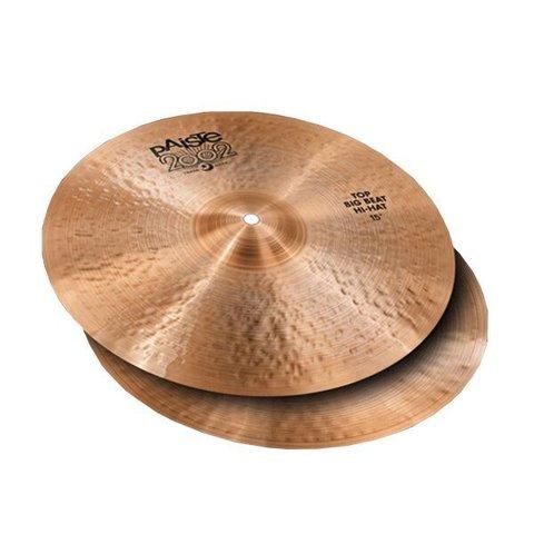 """Paiste 15"""" 2002 Big Beat Hi Hat Cymbals"""