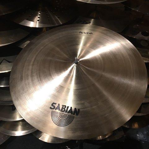 "Sabian Prototype AAX 22"" Crash Cymbal"