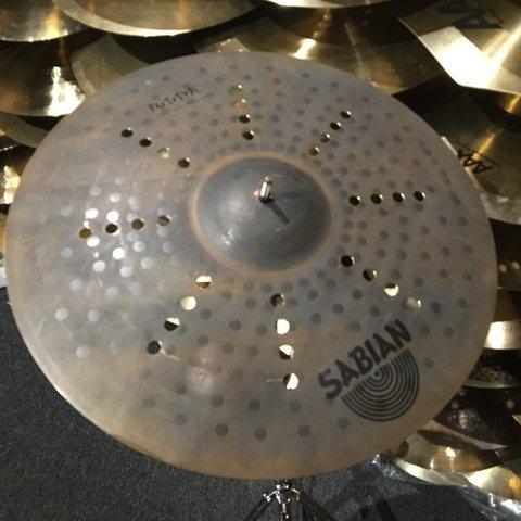 """Sabian Prototype AAX 20"""" Raw Aero Ride Cymbal"""