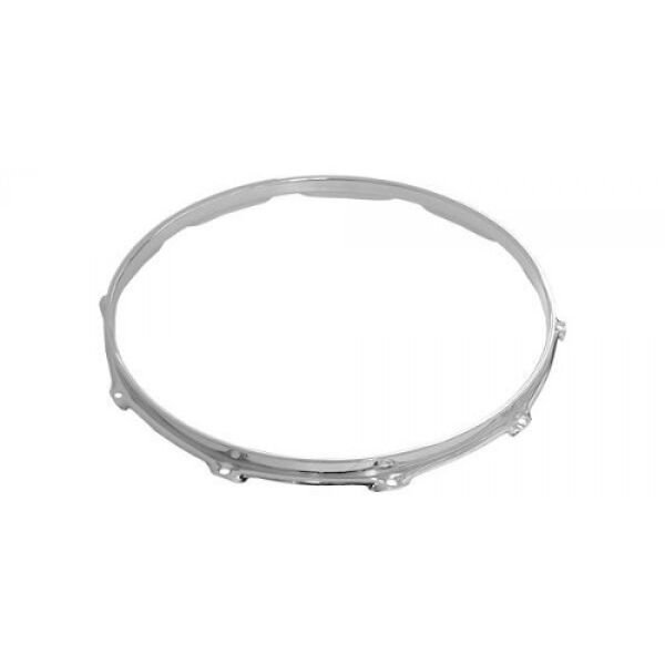 "Pearl Pearl 14"" 12-Rod Super Hoop - Snare Side with Guard"
