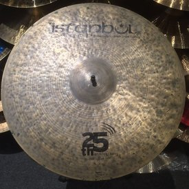 "Used Istanbul Agop 20.5"" 25th Anniversary Ride Cymbal"