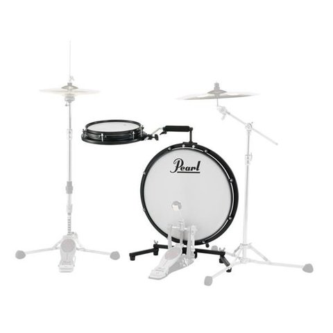 Pearl Compact Traveler Drum Kit; Includes Bag