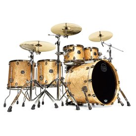 Mapex Mapex Saturn V MH Exotic Studioease Clinic Kit 5 Piece Shell Pack in Natural Maple Burl