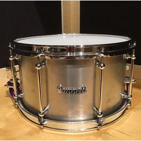 Dunnett Dunnett Classic Raw Titanium 8x14 Snare Drum