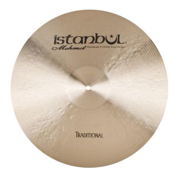 """Istanbul Mehmet Istanbul Mehmet Traditional Series 22"""" Original Ride Cymbal"""