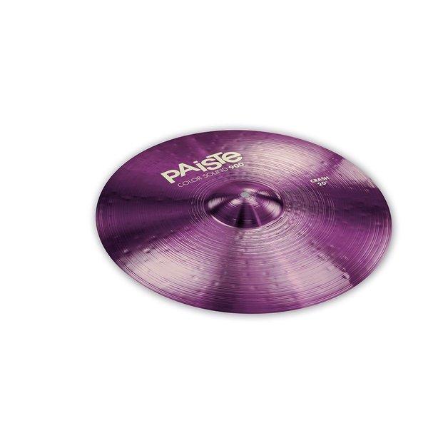 """Paiste Paiste Color Sound 900 Purple 20"""" Crash Cymbal"""