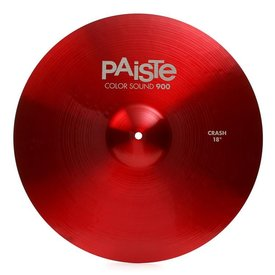 "Paiste Paiste Color Sound 900 Red 18"" Crash Cymbal"