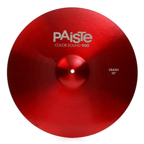 "Paiste Color Sound 900 Red 18"" Crash Cymbal"
