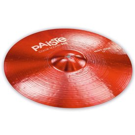 "Paiste Paiste Color Sound 900 Red 17"" Heavy Crash Cymbal"