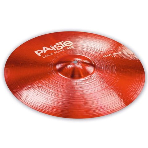 "Paiste Color Sound 900 Red 17"" Heavy Crash Cymbal"