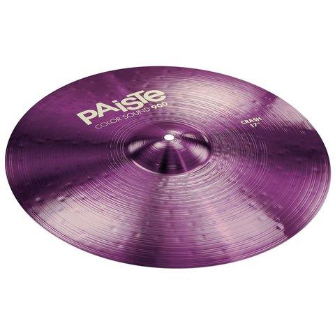 """Paiste Color Sound 900 Purple 17"""" Crash Cymbal"""