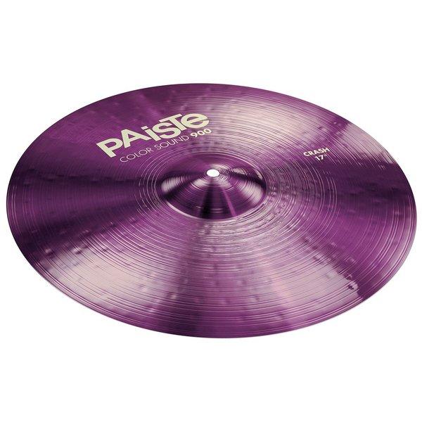 """Paiste Paiste Color Sound 900 Purple 17"""" Crash Cymbal"""