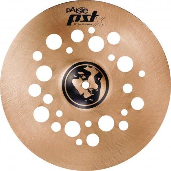 "Paiste Paiste PSTX 12"" DJS 45 Crash Cymbal"