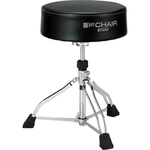 Tama 1st Chair Round Rider XL Black Drum Throne