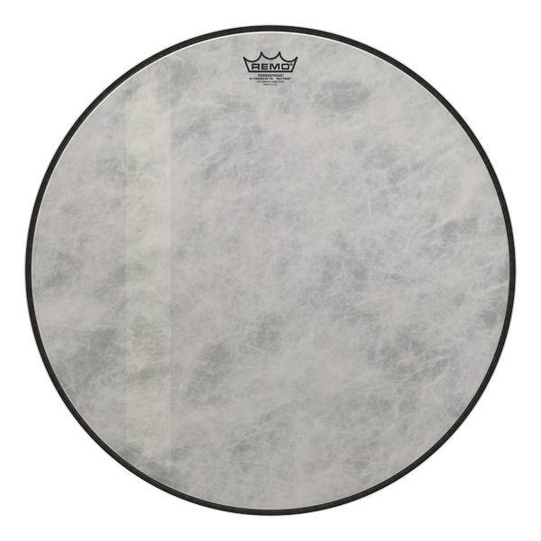 "Remo Remo Bass, Powerstroke® 3, Fiberskyn®, Diplomat®, Felt Tone™, 18"" Diameter"