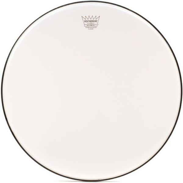 "Remo Remo Batter, Ambassador®, Classic, Clear, 16"" Diameter"
