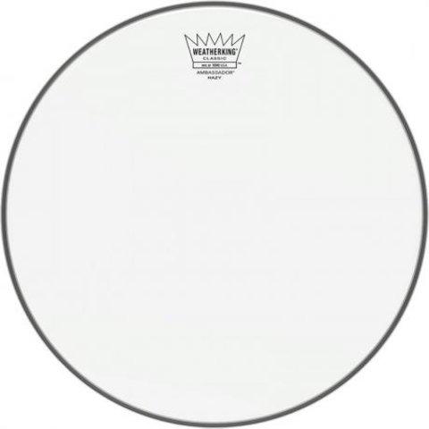 """Remo Snare, Ambassador®, Classic, Hazy, 14"""" Diameter"""