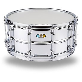 Ludwig Ludwig Supralite 6.5x14 Steel Snare Drum